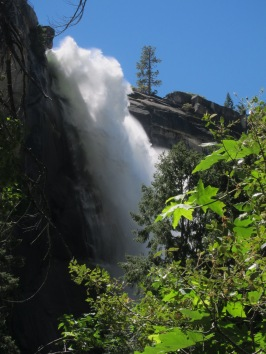 Nevada Falls on the way up