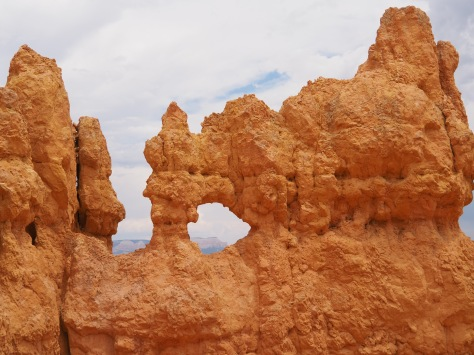 An arch in the hoodoos