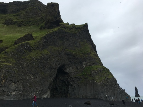 The caves and basalt columns of Reynisfjara