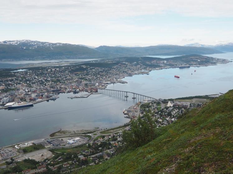 Tromsø from Storsteinen