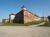 Brașov fortress, towering over the city but closed to the public