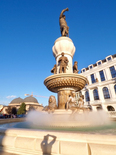 Skopje, Macedonia - A city of fountains