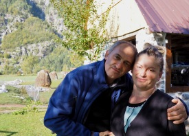 Our fantastic homestay hosts, Pashko and Vera