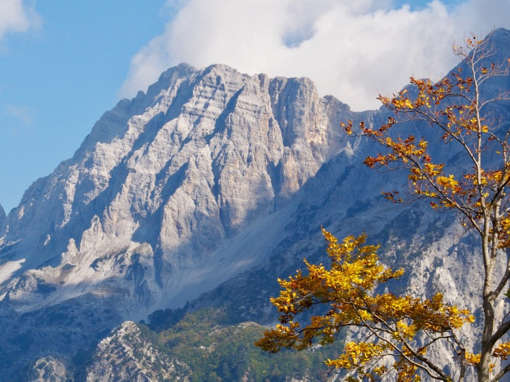 Fall colors in the Accursed Mountains